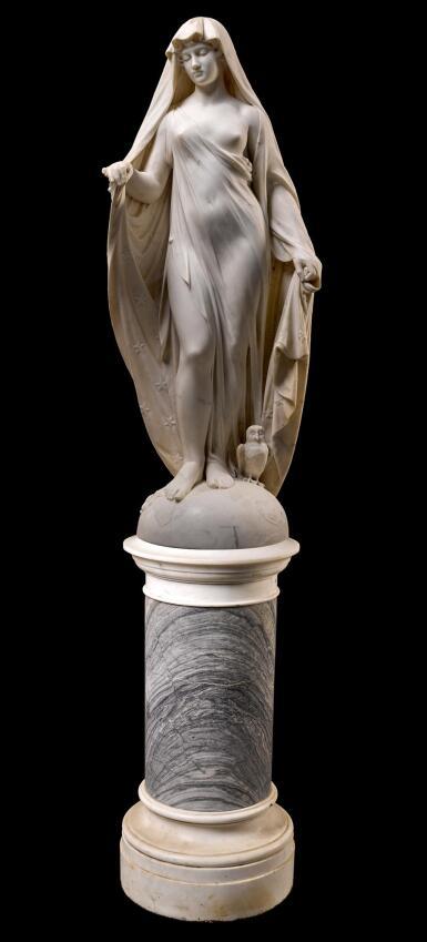 ITALIAN OR BRITISH, 19TH CENTURY   GODDESS OF THE NIGHT