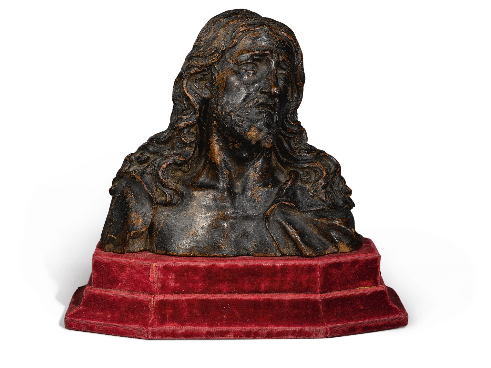 View full screen - View 1 of Lot 783. Bust of Christ.