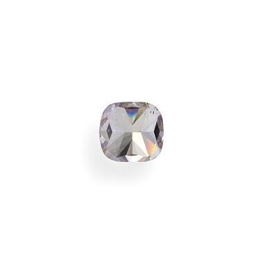 View 4. Thumbnail of Lot 27. A 1.01 Carat Fancy Pink-Purple Cushion-Cut Diamond, SI1 Clarity.