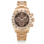 ROLEX  |  COSMOGRAPH DAYTONA, REFERENCE 116505,  A BRAND NEW PINK GOLD CHRONOGRAPH WRISTWATCH WITH BRACELET, CIRCA 2014