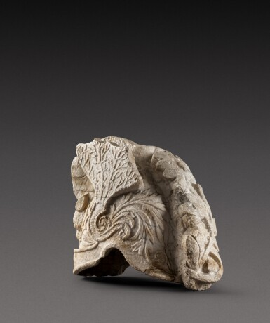 View 4. Thumbnail of Lot 156. Southern Netherlandish, late 16th/ early 17th century | Helmet Fragment.