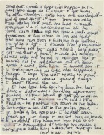 Sylvia Plath | Autograph letter signed, to Edith Hughes, recuperating in hospital, 6 March [1961]
