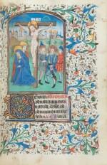 Livre d'heures (usage de Rome). Heures dites de Fyot de Mimeure. [Belgique, Bruges, vers 1460]