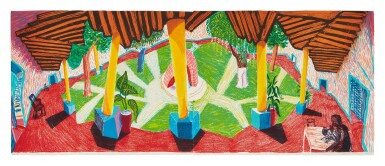 View 1. Thumbnail of Lot 41. DAVID HOCKNEY | HOTEL ACATLÁN: TWO WEEKS LATER (MUSEUM OF CONTEMPORARY ART, TOKYO 271).