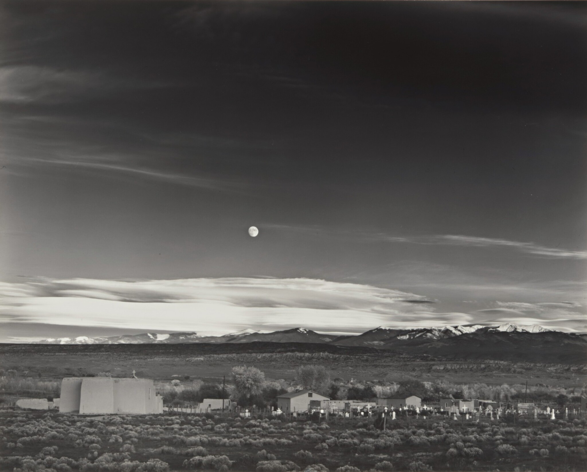 View full screen - View 1 of Lot 6. 'Moonrise, Hernandez, NM'.