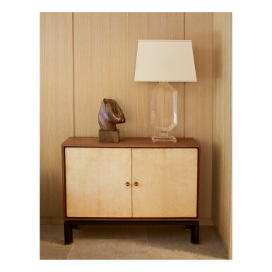 View 3. Thumbnail of Lot 175. PAUL DUPRÉ-LAFON | PAIR OF CHESTS OF DRAWERS .