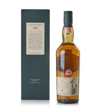 View 2. Thumbnail of Lot 114. Lagavulin 12 Year Old 2002 Special Release 58.0 abv NV.
