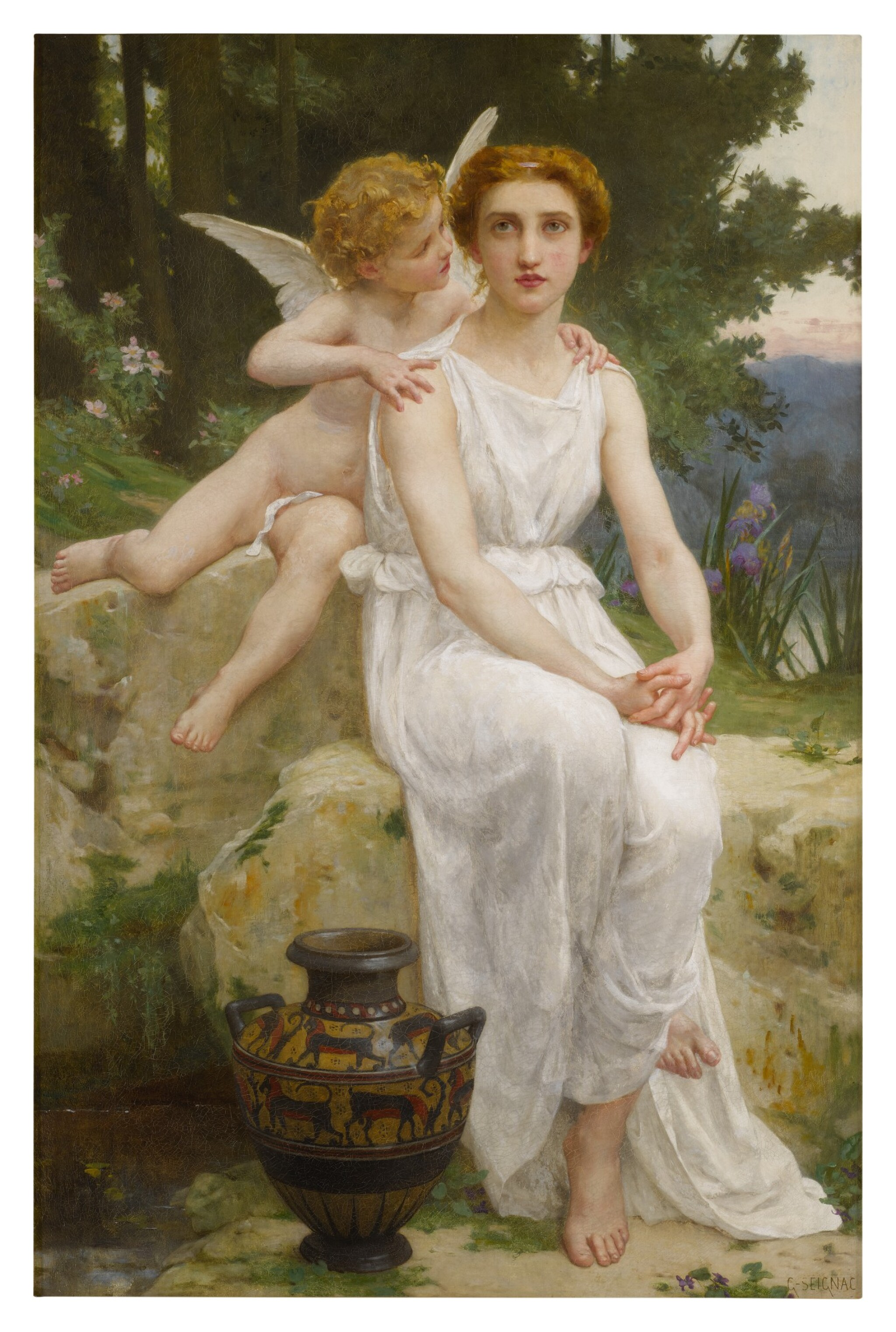 View full screen - View 1 of Lot 14. GUILLAUME SEIGNAC     LOVE'S OFFERING .