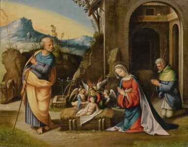 View full screen - View 1 of Lot 110. Nativity           .