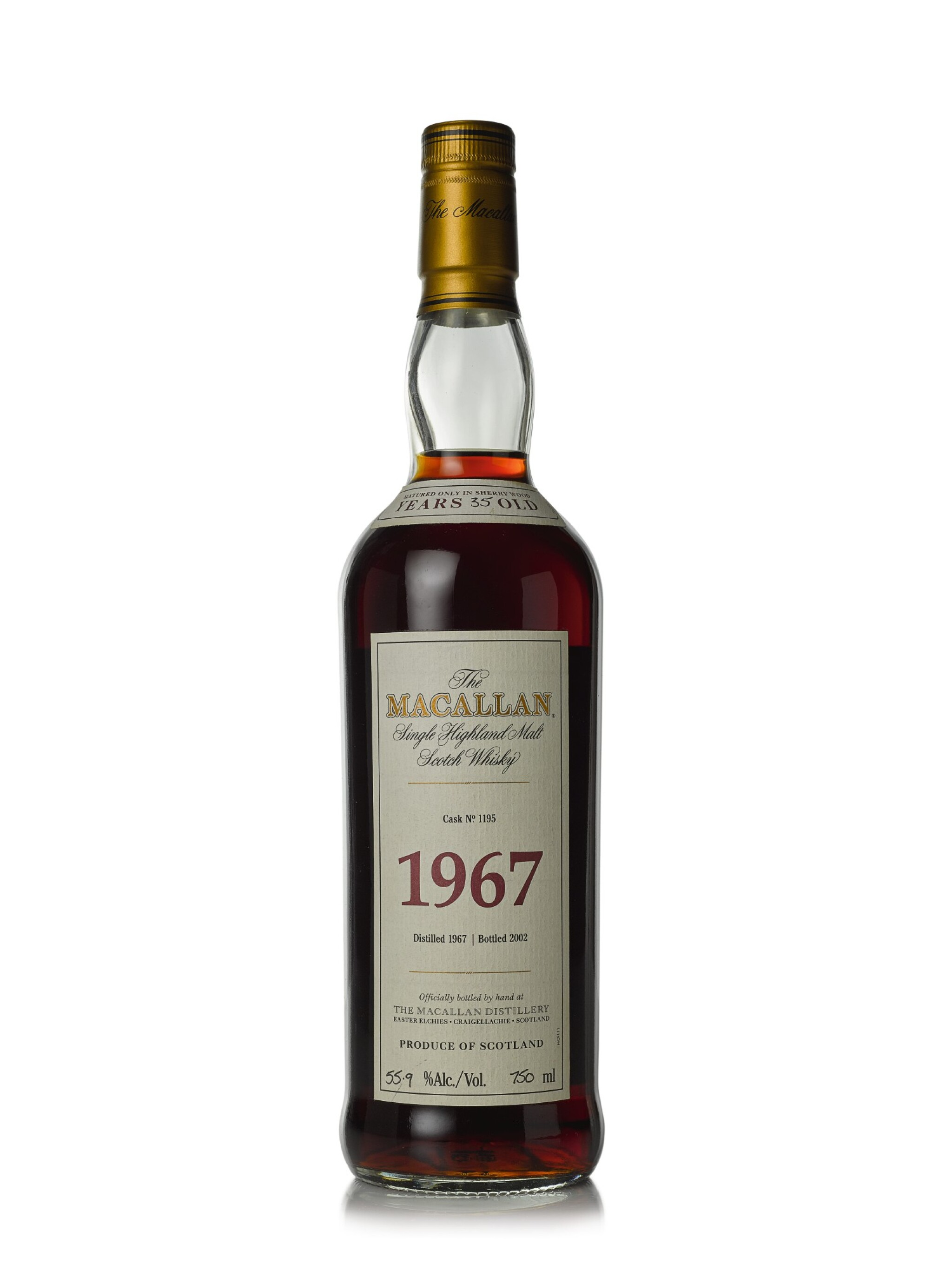 The Macallan Fine & Rare 35 Year Old 55.9 abv 1967 (1 BT75cl)