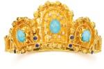 TURQUOISE, SAPPHIRE AND DIAMOND BANGLE, ILIAS LALAOUNIS