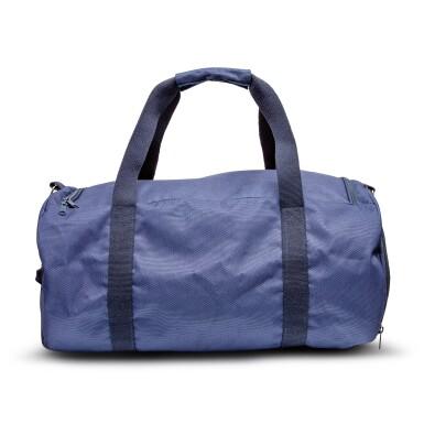 View 3. Thumbnail of Lot 8020. Rolex | A blue canvas duffle bag, Circa 2011 | 勞力士 | 藍色帆布手提袋,約2011年製.
