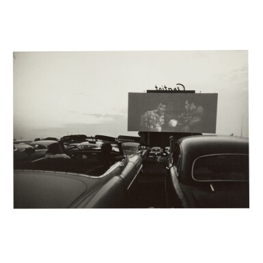 View 1. Thumbnail of Lot 106. ROBERT FRANK | 'DETROIT' (DRIVE-IN MOVIE).