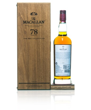 View 2. Thumbnail of Lot 45. The Macallan The Red Collection 78 Year Old 42.2 abv NV (1 BT70).