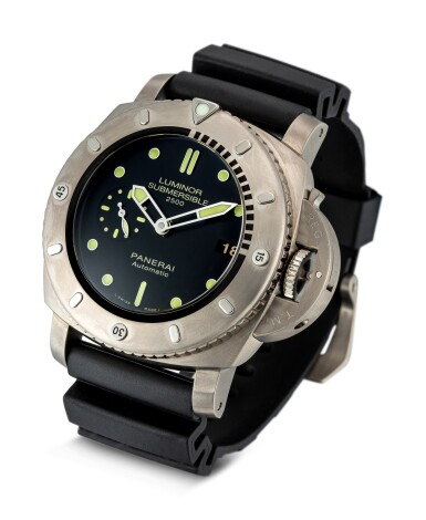 View 2. Thumbnail of Lot 356. PANERAI   LUMINOR SUBMERSIBLE, REFERENCE PAM 364 A TITANIUM WRISTWATCH WITH DATE, CIRCA 2013.