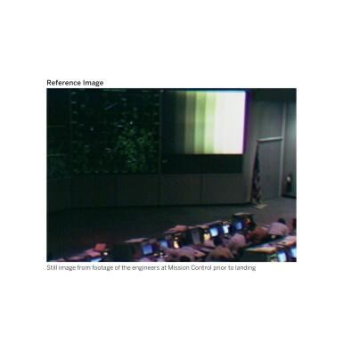 View 4. Thumbnail of Lot 104. [APOLLO 11]. ORIGINAL, FIRST-GENERATION NASA VIDEOTAPE RECORDINGS OF THE APOLLO 11 LUNAR EVA.