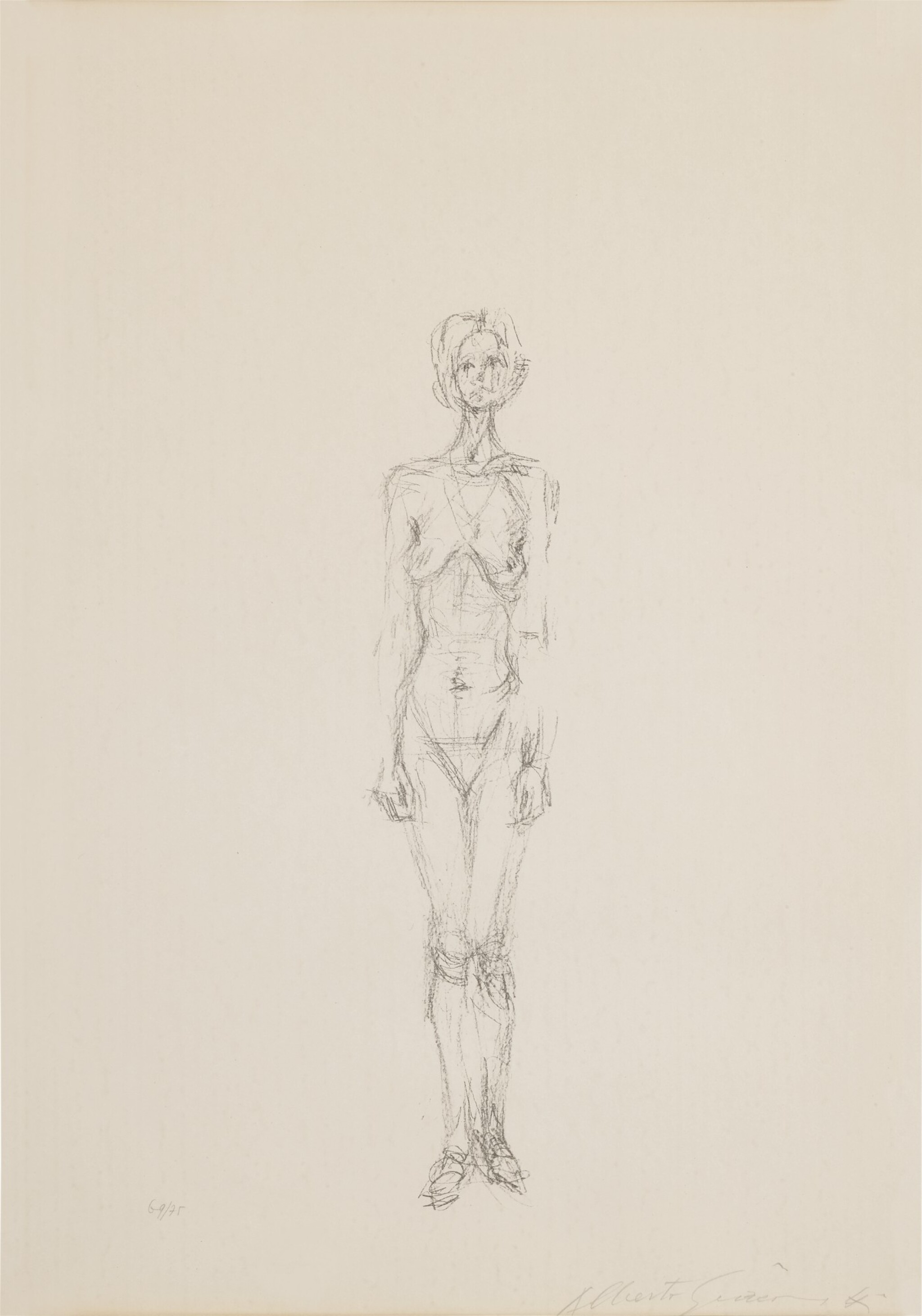 View full screen - View 1 of Lot 63. Standing Nude II (Lust 36).