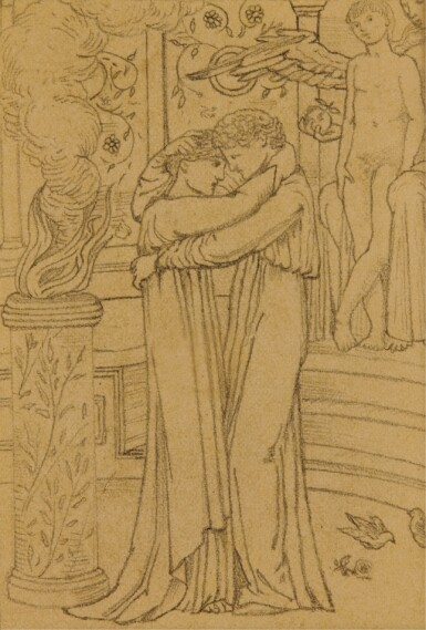 View 4. Thumbnail of Lot 13. SIR EDWARD COLEY BURNE-JONES, BT., A.R.A., R.W.S.   STUDIES FOR THE STORY OF PSYCHE.