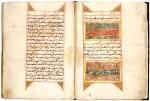 A QUR'AN, COPIED BY MUHAMMAD IBN 'ABD AL-QADIR B. IBRAHIM B. AHMAD B. AL-HASANI, NORTH AFRICA, DATED 1197 AH/1783 AD