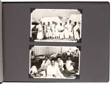 View 3. Thumbnail of Lot 116. MECCA and HAJJ | A collection of books, prints and photographs relating to Mecca and the Hajj..