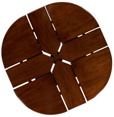 View 8. Thumbnail of Lot 11. AN EARLY VICTORIAN EXPANDING DINING TABLE BY JOHNSTONE & JEANES, MID-19TH CENTURY.