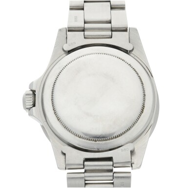 View 5. Thumbnail of Lot 286. REFERENCE 5513 SUBMARINER A STAINLESS STEEL AUTOMATIC WRISTWATCH WITH BRACELET, CIRCA 1977.
