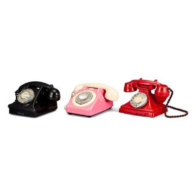 View 3. Thumbnail of Lot 2011. Three old Hong Kong landline telephones | 古老電話一組三件.