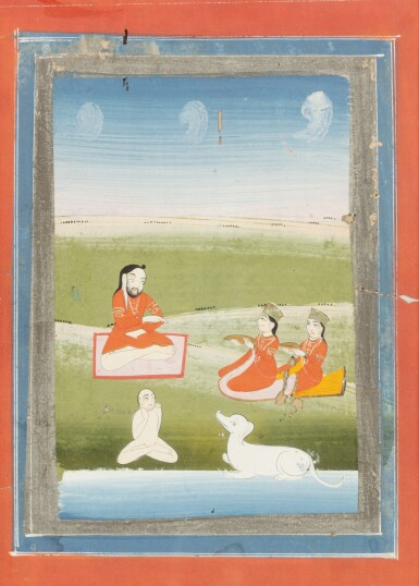 View 7. Thumbnail of Lot 36. INDIA, RAJASTHAN, PAHARI, LATE 18TH CENTURY AND 19TH CENTURY | FIVE INDIAN MINIATURES .