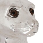 A SILVER-PLATED WINE COOLER IN THE FORM OF A SEA LION, UNMARKED, 20TH CENTURY