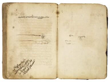 KITAB USUL AL-FIQH, COPIED BY MAHMOUD B. MAHMOUD B. ALI AL-MAFAHIR AL-SIWASI, NEAR EAST, DATED 722 AH/1322-23 AD