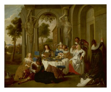 View 1. Thumbnail of Lot 210. FLEMISH SCHOOL, 18TH CENTURY | THE PRODIGAL SON.