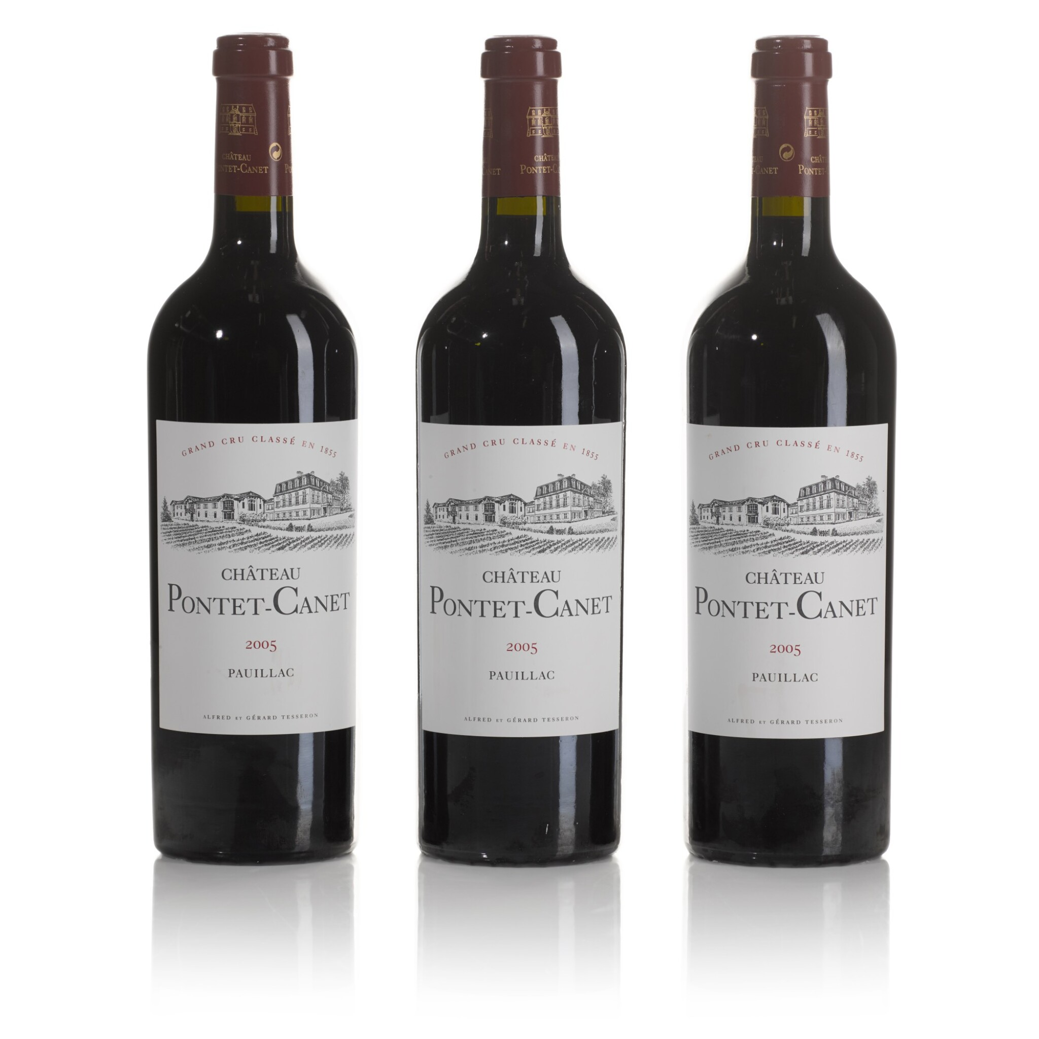 View full screen - View 1 of Lot 157. Château Pontet Canet 2005  (12 BT).