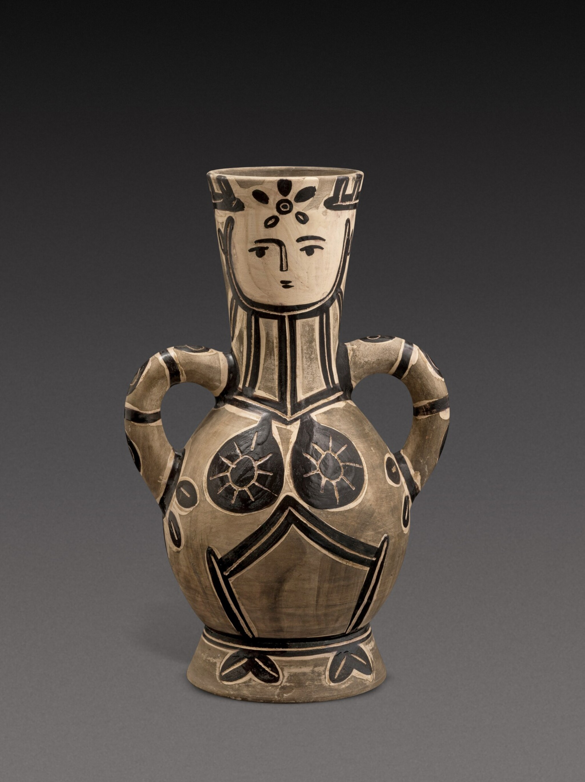 View full screen - View 1 of Lot 12. Vase deux anses hautes (A. R. 213).