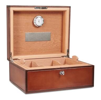View 3. Thumbnail of Lot 3. Berluti   Cigar Box, Cigar Case, Club Chairs and Cyrus Slippers (Boîte à Cigares, Étui à Cigares, Fauteuils Club et Slipper Cyrus ) [5 Items / Articles].