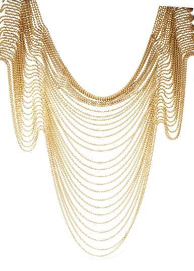 GOLD NECKLACE 'DRAPERIE' | CARTIER