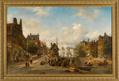 View 2. Thumbnail of Lot 89. The Singel and Brouwersgracht, Amsterdam.