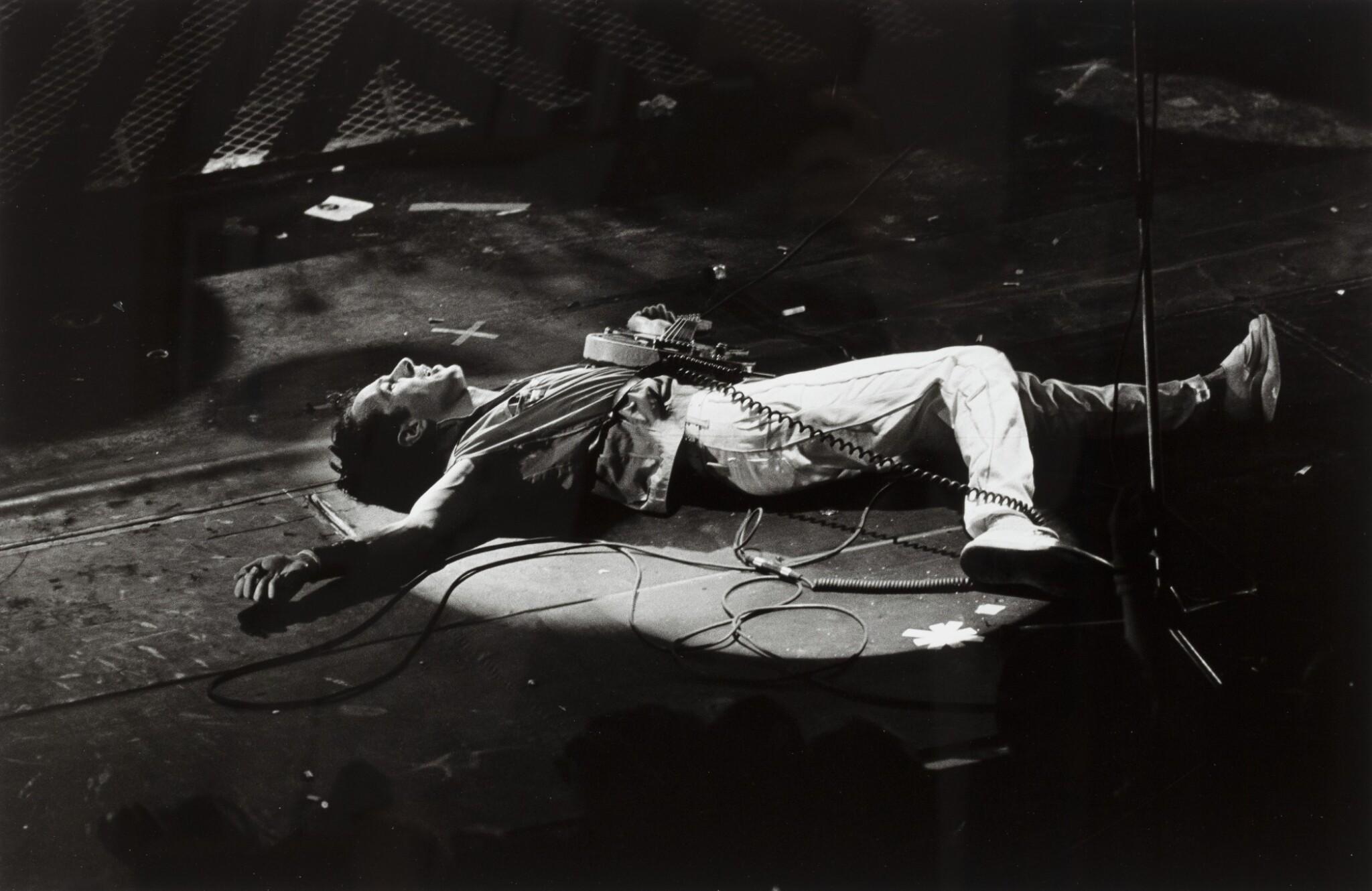View full screen - View 1 of Lot 145. Joe Strummer, Paris 1981.