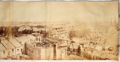 View 4. Thumbnail of Lot 156. Sydney | 360-degree photograph panorama, 1885.