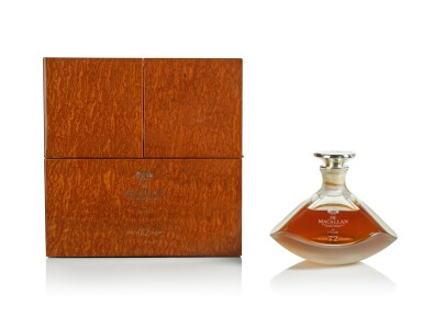 View 5. Thumbnail of Lot 21. The Macallan In Lalique Genesis Decanter 72 Year Old 42.0 abv NV  .