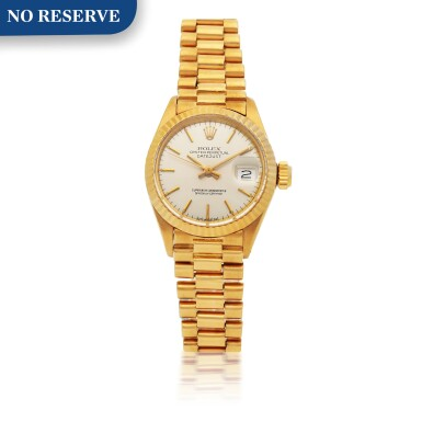 ROLEX | DATEJUST, REF 6917 YELLOW GOLD WRISTWATCH WITH DATE AND BRACELET CIRCA 1973