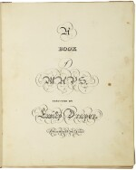 """Map book of Emily Draper: """"A Book of Maps executed by Emily Draper. Greenfield, M[a]ss., 1822"""""""