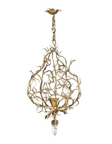 View 2. Thumbnail of Lot 169. Herve van der Straeten | 'Lustre' Chandelier.