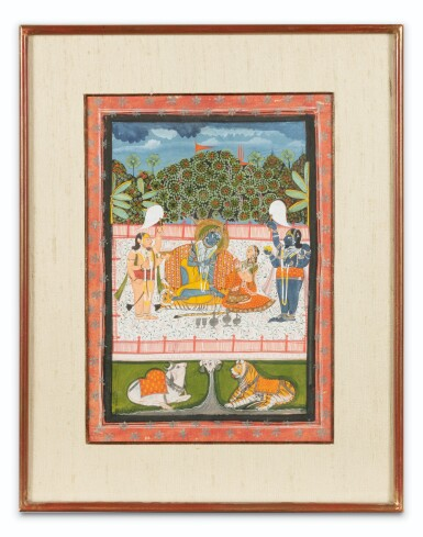 View 6. Thumbnail of Lot 69. RAJASTHAN, LATE 18TH CENTURY AND 19TH CENTURY | SEVEN INDIAN MINIATURES.