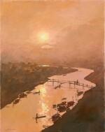 Riverscape   河景