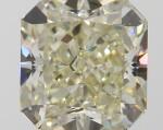 A 1.51 Carat Cut-Cornered Square Modified Brilliant-Cut Diamond, W-X Color, VVS2 Clarity
