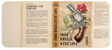 View 3. Thumbnail of Lot 24. FLEMING | From Russia, with Love, 1957, presentation copy inscribed to the author's wife.