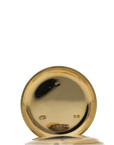 View 3. Thumbnail of Lot 44. CHARLES FRODSHAM | A PINK GOLD HUNTING CASED WATCH CIRCA 1916.