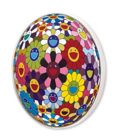 View 3. Thumbnail of Lot 27. Takashi Murakami 村上隆 | Flower Ball (Kindergarten Days) 花球(育幼園的日子).