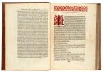 Strabo. De situ orbis. Venice, Aldus, 1516. later red morocco, Macclesfield copy
