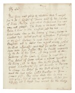Jonathan Swift   Autograph letter signed, to the Duke of Dorset, in support of his friend Thomas Sheridan, 22 March 1735